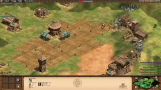 Age of Empires II - Arabia 4v4 1800+ with Malians
