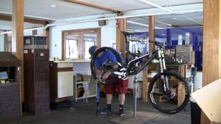 Attitash Mountain Biking - Downhill Demo Bike Build - Summer 2013
