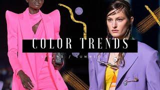 Color Trends - SpringSummer 2021