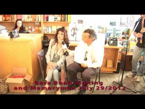 Bara Memoryman book signing  Malibu 7-29-12