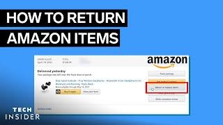 How To Return Amazon Items