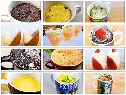Top 20 Easy Dessert Mug Recipes - Brownies, Chocolate Cake, Donuts, & More in the Microwave!
