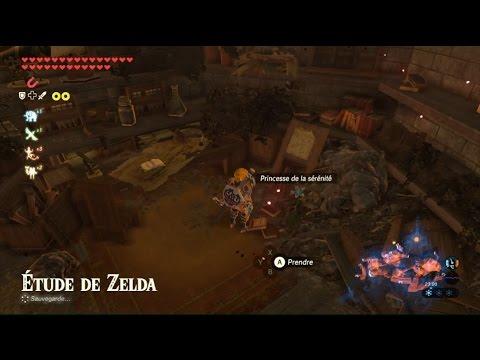 The Legend Of Zelda Botw  Chemin Vers La Chambre De