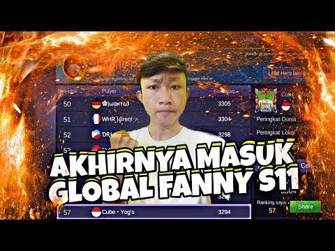 Detik Detik Masuk GLOBAL FANNY SEASON 11 + Gameplay Have Fun • Mobile Legends Bang Bang
