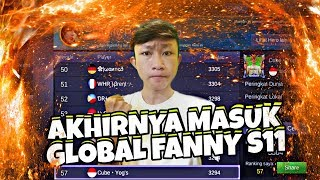 Detik Detik Masuk GLOBAL FANNY SEASON 11 + Gameplay Have Fun • Mobile Legends Bang Bang