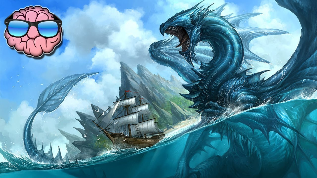 Mythological Dragons: Top 10 Mythical Things That Likely Existed (Dragon, Kraken