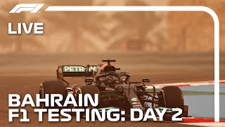 LIVE F1 Pre-Season Testing | Day Two Afternoon