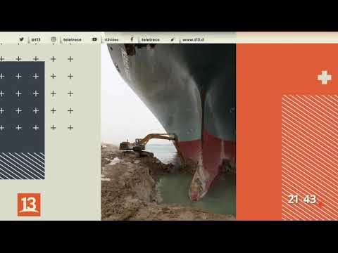 Canal de Suez: el enorme buque encallado que amenaza al comercio mundial
