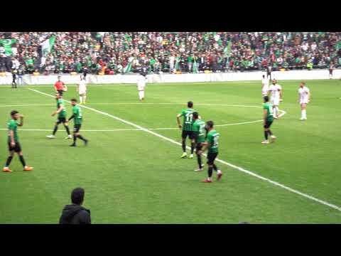 Kocaelispor - Cizrespor ( Başlama vuruşu ve ilk dakikalar )