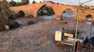 Flood in Zakho Kurdistan of Iraq