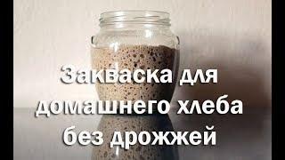 Закваска для домашнего хлеба без дрожжей Рецепт и описание