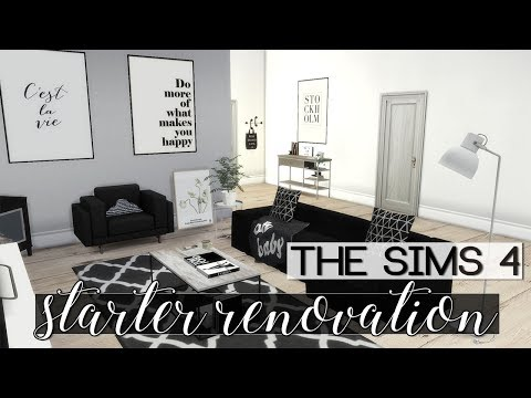 The Sims 4 | Speed Build: Starter House Renovation