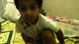 Pranav singing.chinna chinna vanna kuyil