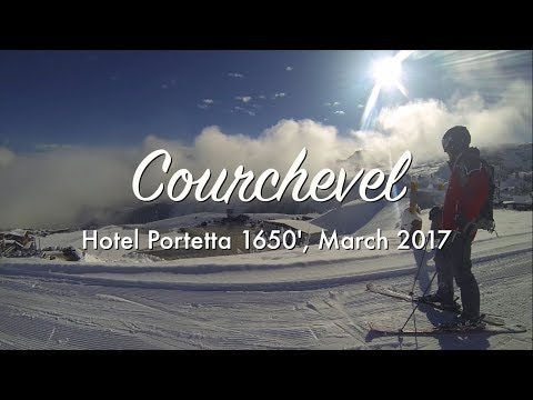 GoPro rotor mounts are awesome! Amazing Courchevel 1650 Skiing Holiday, March 2017