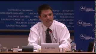 Encryption vs. Surveillance - Ladar Levison Speech in EuroParl