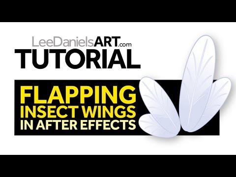 After Effects Tutorial | Flapping Insect Wings
