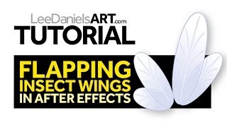 Tutorial | After Effects | Flapping Insect Wings