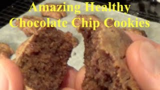 Healthy Chocolate Chip Cookies - Gluten Free Paleo