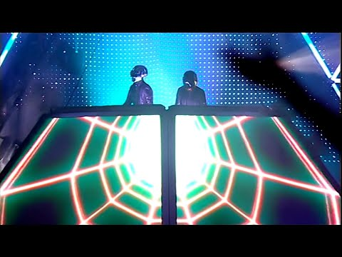 Daft Punk -  Alive 2007 1080p 50p: One More Time, Aerodynamic , Da Funk, Daftendirekt