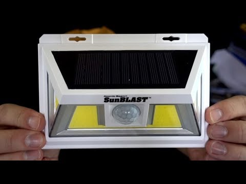 Atomic Beam SunBlast Review: As Seen on TV Solar Light