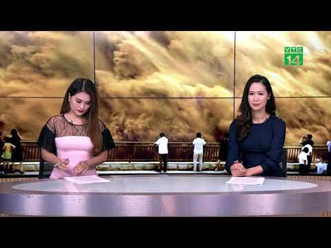 Cảnh mở đập xả lũ rợn người ở Trung Quốc | VTC14