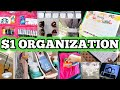 30 DOLLAR STORE ORGANIZATION HACKS & IDEAS (that you'll actually use!)