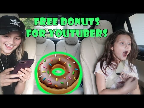 Free Donuts for YouTubers!!! 🍩 (WK 347.5) | Bratayley
