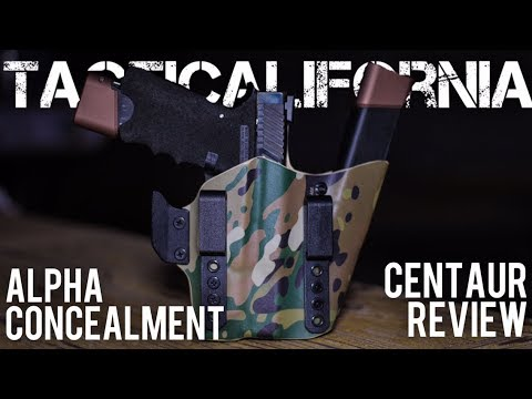 ALPHA CONCEALMENT CENTAUR HOLSTER REVIEW