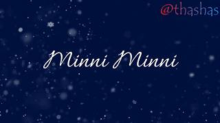 MINNI MINNI SONG LYRICS | JUNE | AMRITHA SURESH | IFTHI | VINAYAK SASIKUMAR