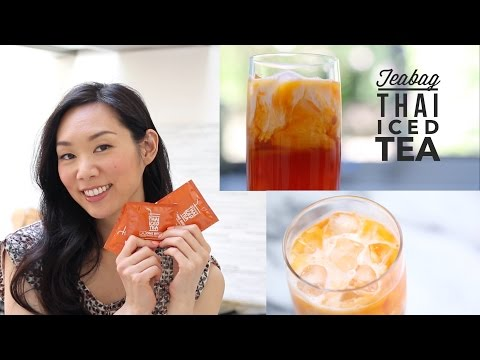 Simple Thai Iced Tea Recipe | Angel Wong's Kitchen