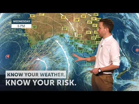 Severe Weather Update: Strongest Weather System This Winter For Southeast Australia, 7 August 2019