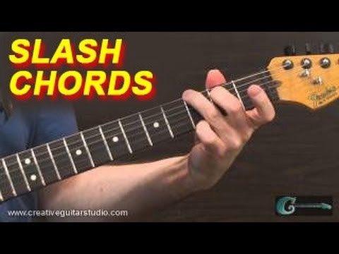 GUITAR THEORY: Slash Chords - No More Mystery
