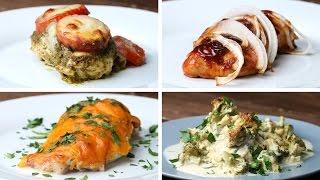 chicken bake 4 ways