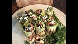 Рулетики из кабачков: рецепт от Foodman.club