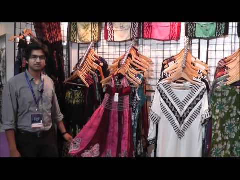 Batik India www.BatikIndia.com Ladies clothing  IIGF India International garment Fair