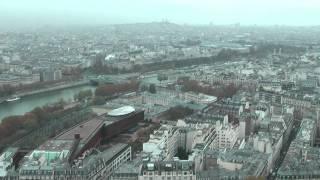 На Эйфелевой башне (Франция, Париж)