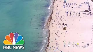 Florida Coronavirus Cases Surge As State Prepares To Host Sports, Political Events | NBC News NOW