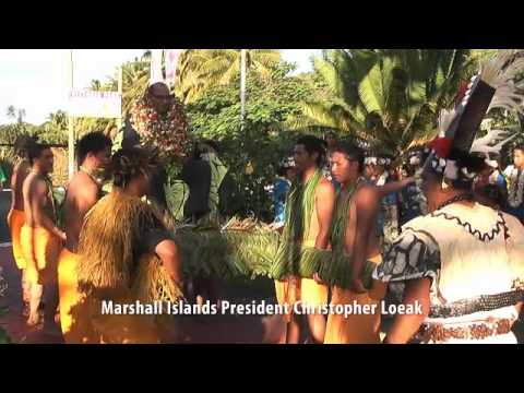 Pacific leaders at Forum opening on Rarotonga