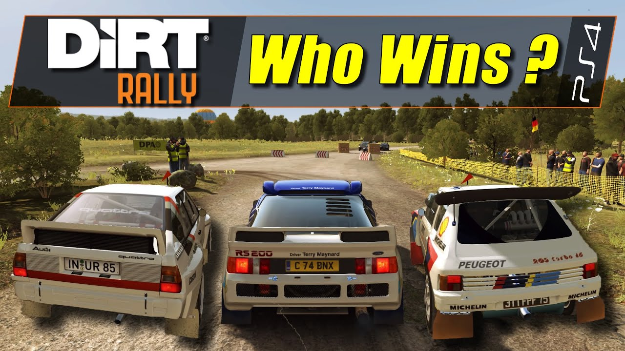 dirt rally ps4 group b cars comparison 720p hd. Black Bedroom Furniture Sets. Home Design Ideas