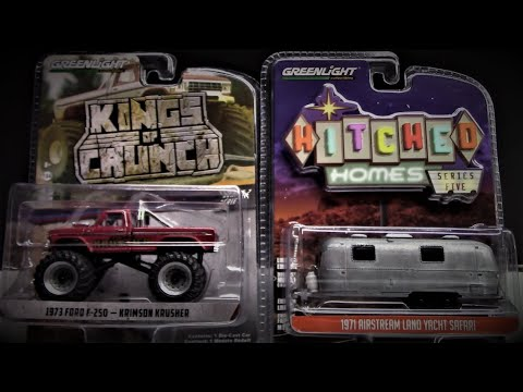NEW RELEASE GREENLIGHT - KING OF CRUNCH - HITCHED HOMES - HITCH & TOW - HOT PURSUIT