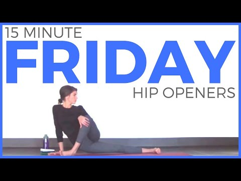 Friday - Feel Good Hip Opening Hatha Yoga Routine | 7 Day Yoga Challenge