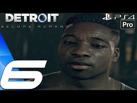 Detroit Become Human - Gameplay Walkthrough Part 6 - Time To Decide & Zlatko (PS4 PRO)