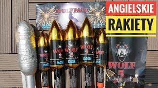 Zestaw Angielskich Rakiet WOLF! + Bonus Kolejna KLĄTWA TEŚCIOWEJ!