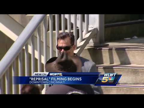 Hollywood takes over downtown Cincinnati for 'Reprisal' filming