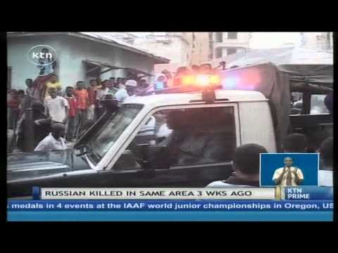 German Tourist shot dead in Mombasa the same place a Russian tourist was killed two weeks ago
