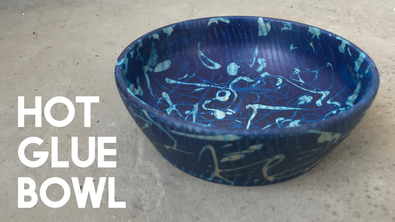 How To Add Depth On A Bowl Hot Glue