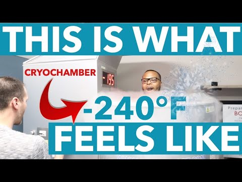 Spine Surgeon Tries -240°F Cryotherapy For the First Time...Here's How it Went!