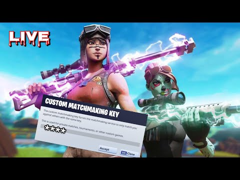 NA WEST CUSTOM MATCHMAKING SOLO/DUO/SQUAD FORTNITE LIVE | PS4,XBOX,PC,MOBILE,SWITCH
