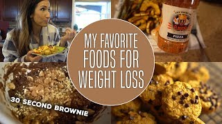 Weight Loss My Favorite Foods - Full Day Of Eating