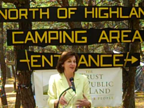 Vicki Kennedy Celebrates Protection Of North Of Highland Campground